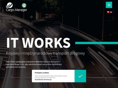 Krajowy i mi臋dzynarodowy transport drogowy