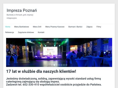 Catering Pozna艅