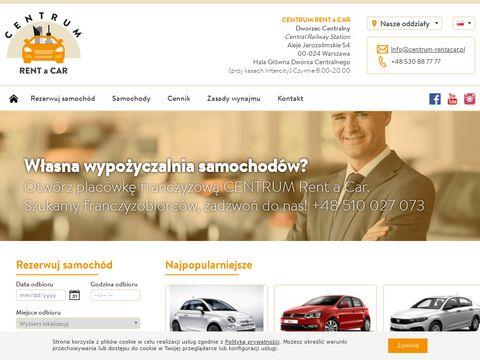 Tania wypo偶yczalnia samochod贸w Warszawa