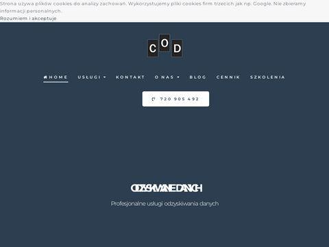 Odzyskiwanie danych z kart pamiÄ™ci - centrumodzyskiwaniadanych.pl