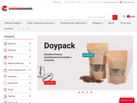 Sklep z opakowaniami kartonowymi - centrumpakowania.com