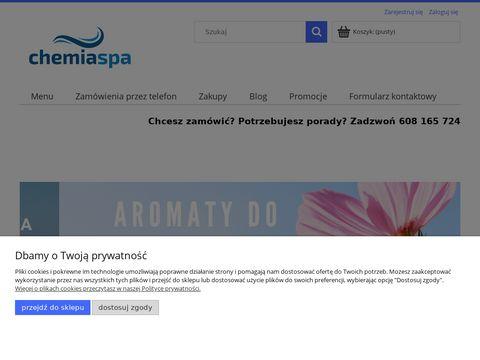 Chemia do sauny - chemiaspa.pl