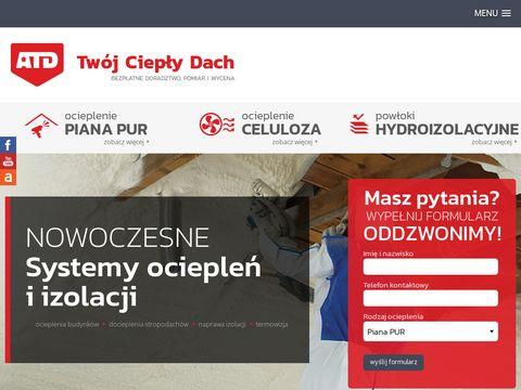Cieplydach.pl - Ocieplenie pianką PUR