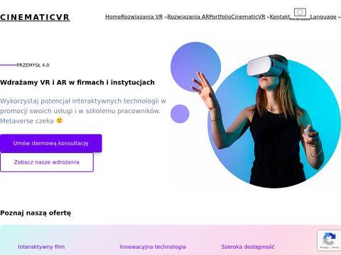 Produkcja film贸w 360 i aplikacji VR