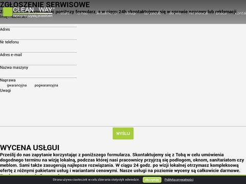 Cleanway.pl Sprz膮tanie Toru艅