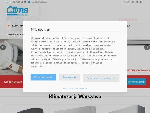 Montaż klimatyzacji- Clima Polska Sp. z o.o.