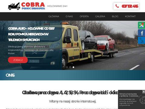 Www.cobrahol.go3.pl Pomoc Drogowa autostrada