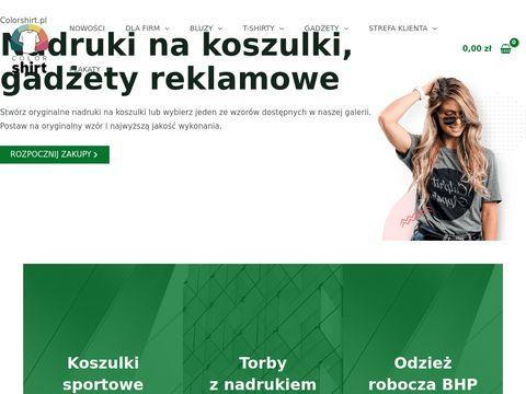 Nadruki na koszulki, gadżety reklamowe z nadrukiem