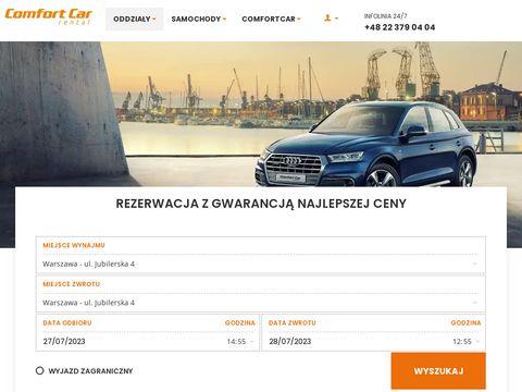 Comfortcar.pl wypo偶yczalnia samochod贸w