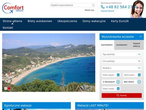 Biuro Podróży Comfort Travel, Chełm, Lwowska 23