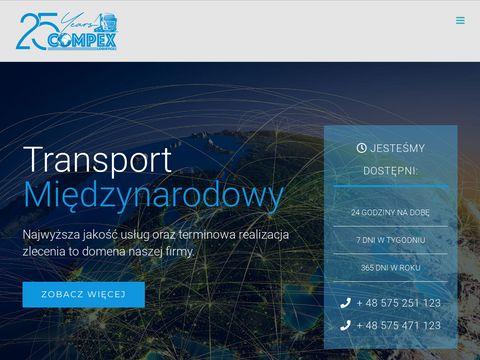 Transport mi臋dzynarodowy Krak贸w - Compex