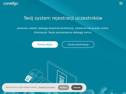 CONREGO - Aplikacja do rejestracji uczestników wydarzeń