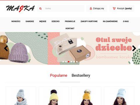 Polskie czapki - Majka