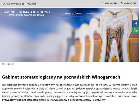 Www.czarnecka-stomatolog.com.pl