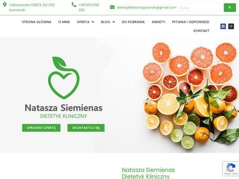 CZAS DIETY Dieta chorobowa Poznań