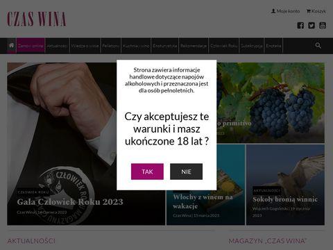 Magazyn czaswina.pl
