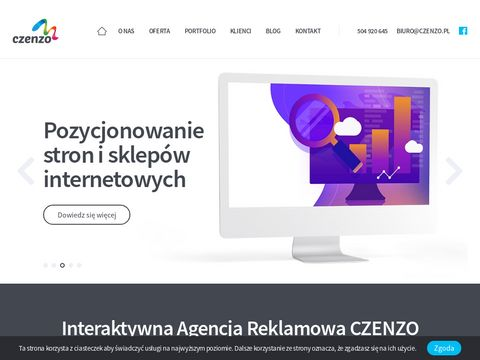 Agencja Interaktywna CZENZO - tworzenie stron internetowych