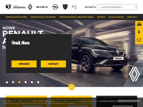 Jaszpol - Autoryzowany dealer Dacia - koncesjoner - salon 艁贸d藕/Zgierz