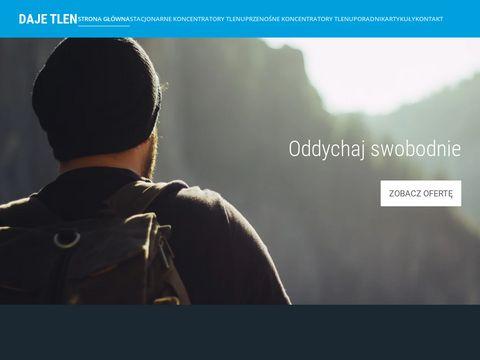 Koncentratory tlenu- dajetlen.pl
