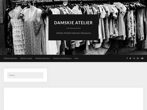 Odzie偶 Damska - Sklep Internetowy Atelier
