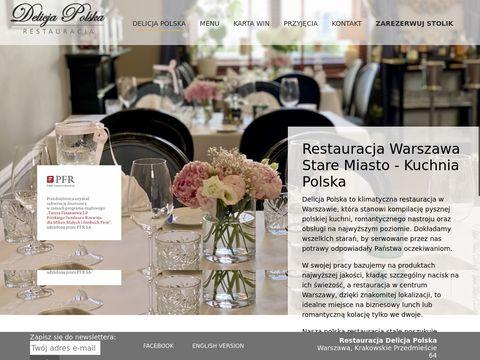 Polska restauracja Delicja Polska