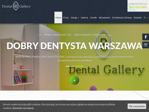 Stomatolog warszawa- dental-gallery.pl