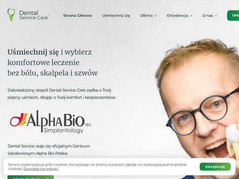 DENTAL-SERVICE chirurg dr Dariusz Pituch
