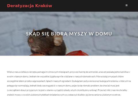 Ekodeded - deratyzacja, dezynfekcja, dezynsekcja Kraków