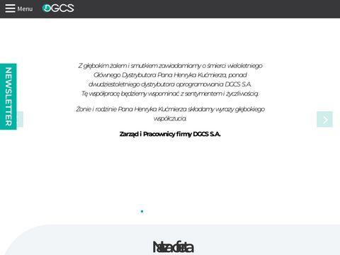 DGCS S.A. - oprogramowanie dla firm i biur rachunkowych
