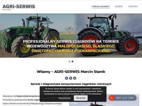 Diagnostyka komputerowa ciągników rolniczych AGRI-SERWIS