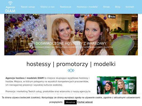 Agencja hostess i modelek DIAM - Warszawa