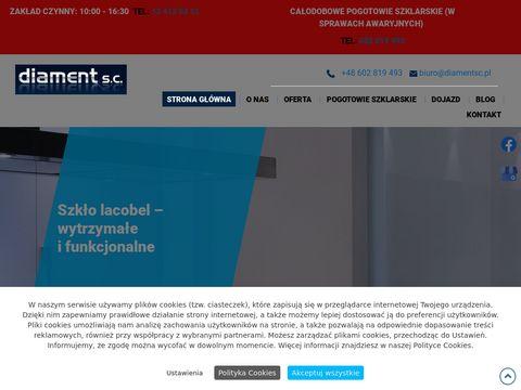 Diament s.c. – lustra Kraków, szklenie Kraków, szklenie Kraków