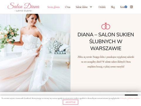 Salon sukien 艣lubnych Warszawa - Diana