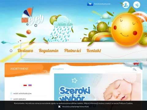 Producent wózków dziecięcych wielofunkcyjnych DidiBaby.pl