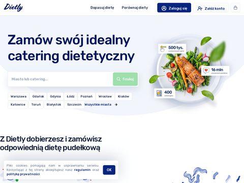 Cateringi dietetyczne - dietly.pl