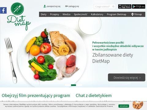 Dietmap.pl - dobra dieta