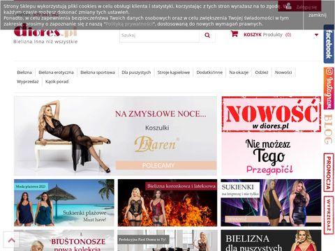 Bielizna ślubna, koronkowa, bodystocking - diores.pl