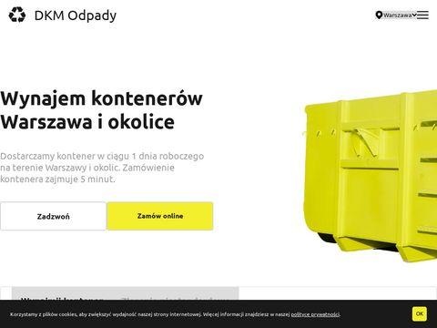 Wynajem kontenerów Warszawa