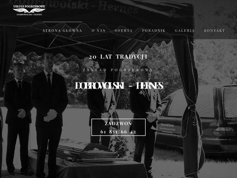 Usługi pogrzebowe Hernes