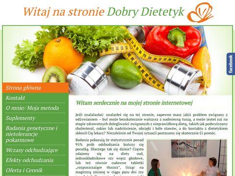 Dobry dietetyk Warszawa