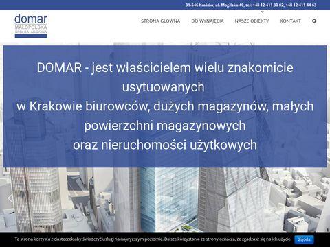 Magazyny, biura, pawilony - wynajem - Krak贸w - DOMAR