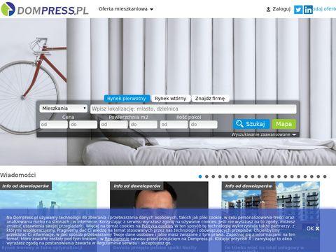 DomPress.pl – mieszkania wynajem