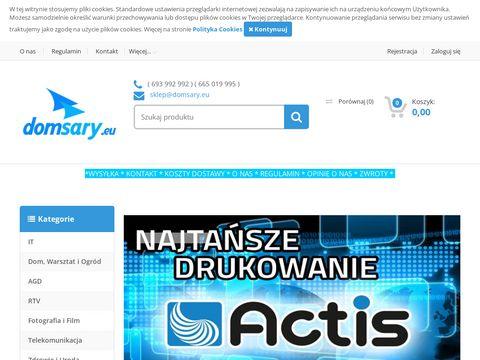 Sklep internetowy RTV, AGD, komputery