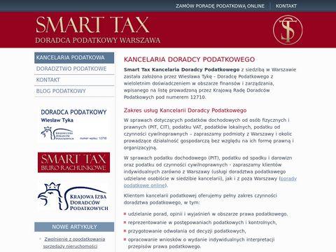 Smart Tax Kancelaria Doradcy Podatkowego