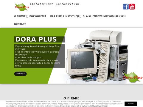 Dora Plus - utylizacja komputerów