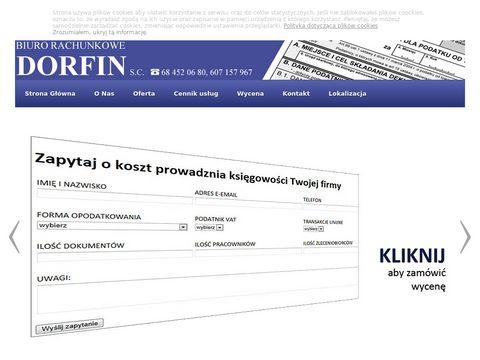 Biuro rachunkowe, księgowość - Zielona Góra - Dorfin S.C.