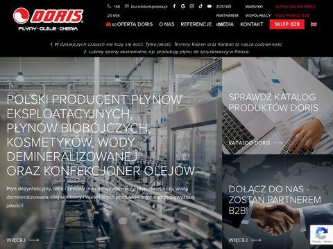 Home - DORIS - Jeden z pierwszych producentów płynów