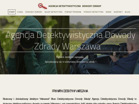 Detektywi Warszawa