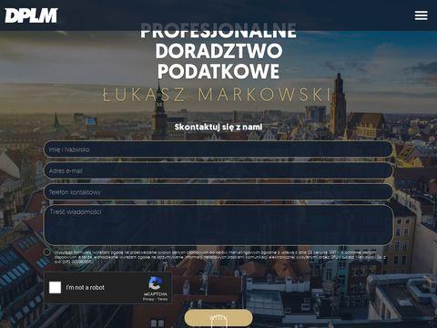 DPLM - Doradztwo Podatkowe �ukasz Markowski