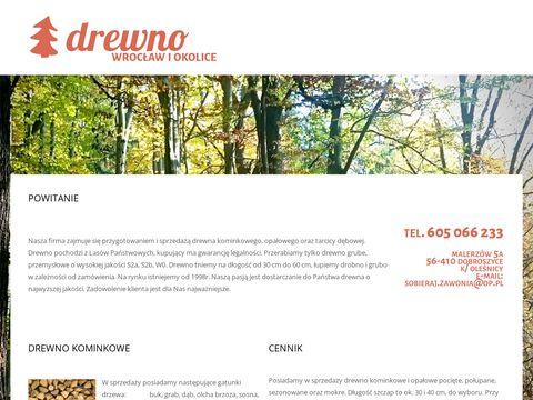 Drewno kominkowe i opałowe Wrocław